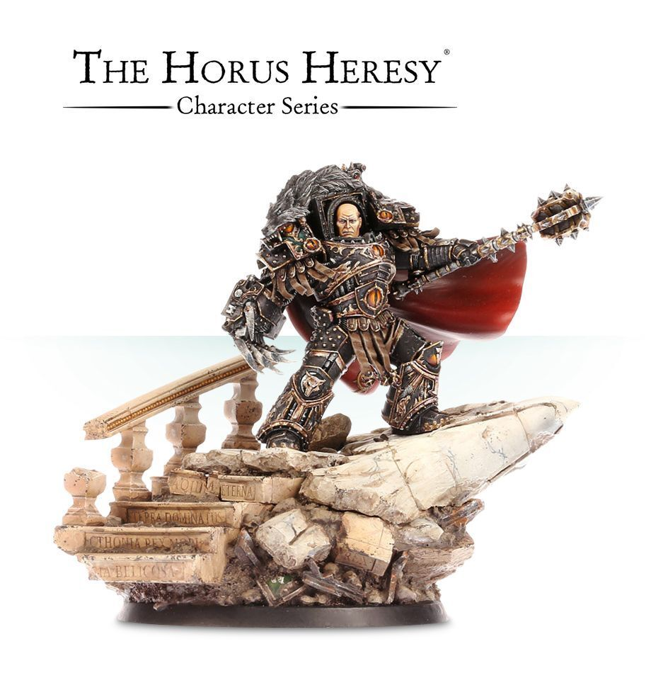 Horus the Warmaster Primarch Commission Superbelly Måled Warhammer