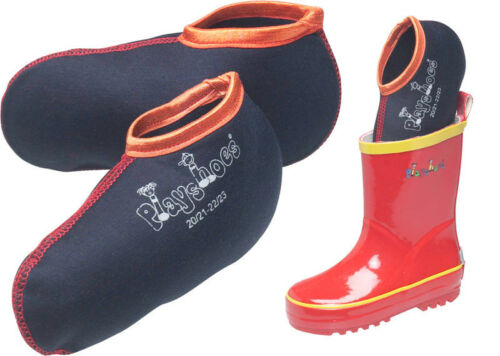 PLAYSHOES Stiefelsocken 32 33 34 35 Stiefel-Socke Füßlinge für Gummstiefel NEU