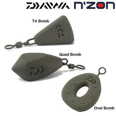 Daiwa N/'ZON Oval Bombs All Sizes Available Coarse Match Fishing Weights