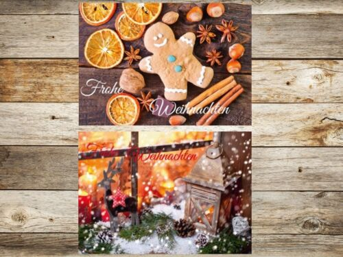 "Nostalgic Christmas Cards Set /""Nostalgia II/"" 50 100 150 200 300 400 500 ST"