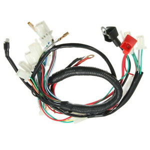 Electric Wiring Harness For Chinese ATV UTV Quad Bike 50cc 70cc 90cc 110cc  125cc | eBayeBay