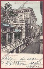 GENOVA CITTÀ 764 PALAZZO TURSI Cartolina viaggiata 1904