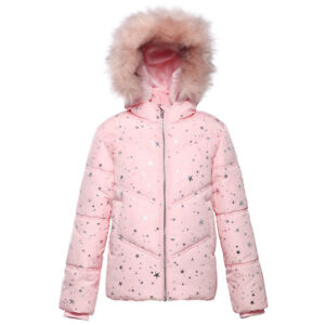 8d270e8d3 Rokka Rolla Girls  Thickened Padded Water-Resistant Hooded Quilted ...