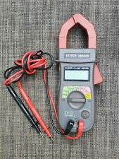 New Listingextech 830609 Power Clamp Meter Withals 1 Volt Check And Carrying Case