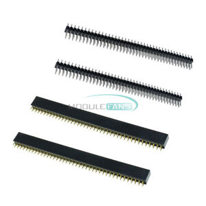 5Pairs-10PCS-2-54mm-2x40Pin-Double-Row-Male-amp-Female-Socket-Header-PCB-Connector