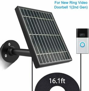 Solar-Panel-for-Ring-Video-Doorbell-1-2nd-Gen-3-5W-Output-No-Include-Camera
