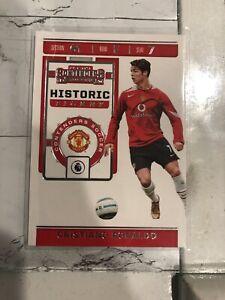 2019-20-Chronicles-Soccer-Historic-Rookie-Ticket-HT-CR7-Cristiano-Ronaldo