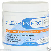 Blue Life Clear Fx Pro 450 Ml Advanced Aquarium Filter Media Free Usa Shipping