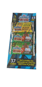 Topps-Match-Attax-EPL-2018-19-Trading-Cards-2-Deluxe-Packets-Multipack-Ltd-Ed