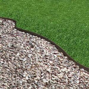Recycled rubber lawn edging thinline border path walkway for Path and border edging