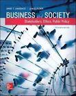 Business and Society: Stakeholders, Ethics, Public Policy von Anne T. Lawrence und James Weber (2016, Gebundene Ausgabe)