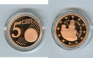 Actif San Marino 5 Cent 2009 Pp Seulement 13.000 Pièce