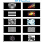 Flash Speedlite Blaster Background image Projector Slides Films Set(10pcs) BGP-3