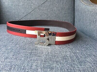 "Black brown Men/'s Belts Reversible belt strap Bally buckles 35 mm 1-3//8 inch 40/"""
