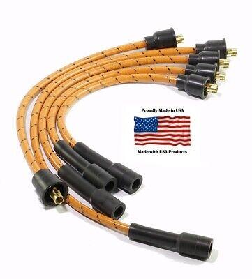 Custom Spark Plug Wire Set for Allis Chalmers D10 D12 D14 D15 D17 WD WD45 w//Dist