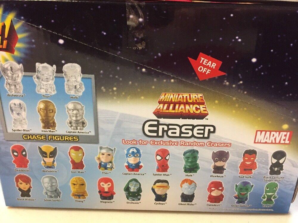 Marvel Miniature Alliance Eraser Gashapon Balls Sphere 40 Pc. Lot
