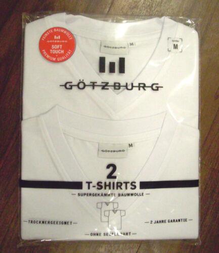 Götzburg ......T Shirt...... X-XXL Doppelpack  American Form V Neck   M