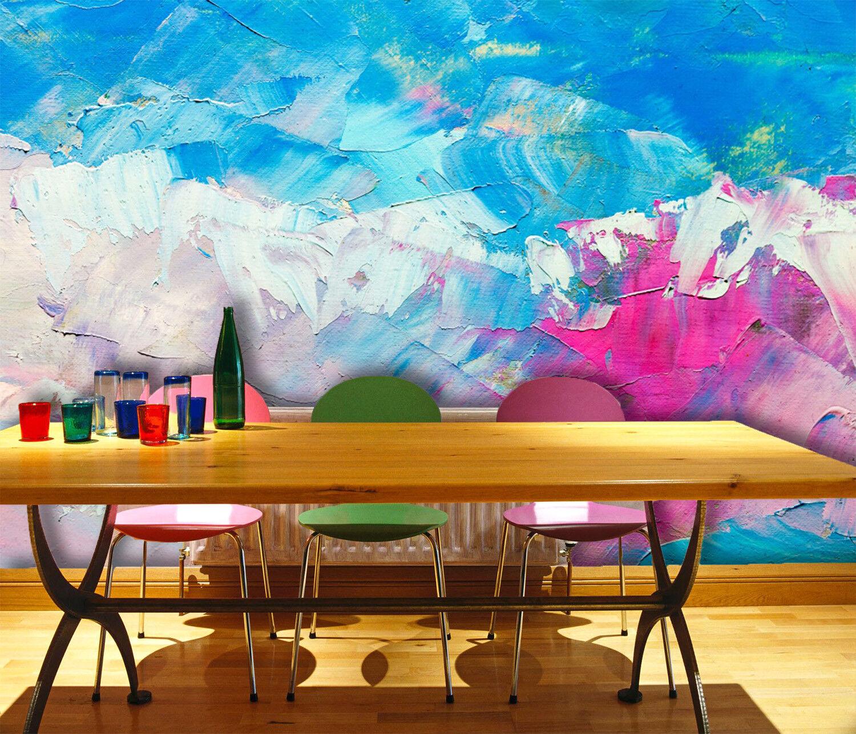 3D Gemalter Himmel 8905 Tapete Wandgemälde Tapeten Bild Familie DE Lemon  | Internationale Wahl  | Online Shop  | Moderne Muster