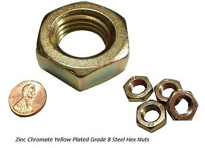 """18-8 Stainless Steel 10 Pcs Hex Nut 7//8/""""-14"""