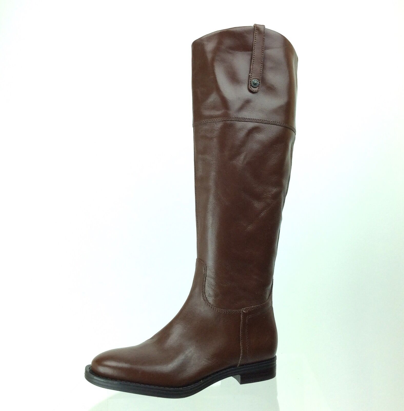 Women's Enzo Angiolini Eaellerby Brown Leather Knee-High Boots Size 5 M NEW