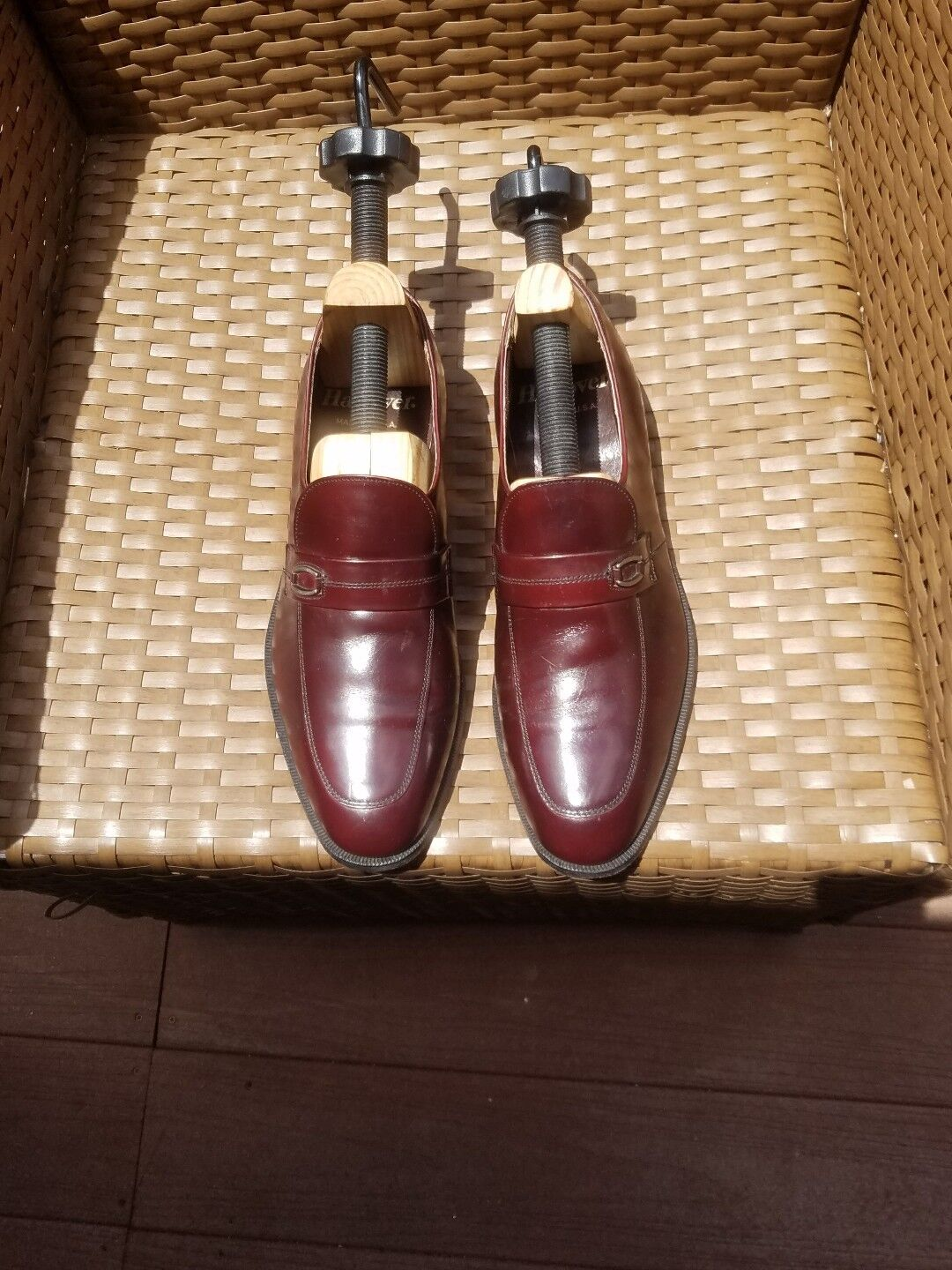 Man/Woman Mens Hanover shoes Size 9.5D/B Many varieties when Upper material Don't worry when varieties shopping 4950ba