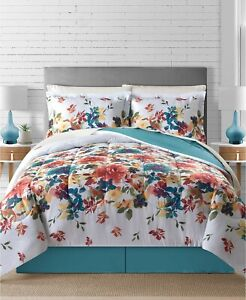 Bright Fl Flowers S Turquoise