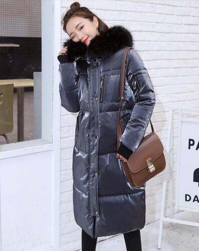 Lit0 Womens capuche Outwear à New épaissir Parka en chaud veste velours coton qPqrA