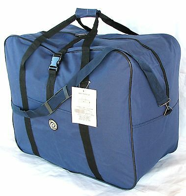 "25"" 50LB. CAP. NAVY BLUE SQUARE JUMBO DUFFLE/ CARGO BAG/LUGGAGE/SUITCASE / TOTE"