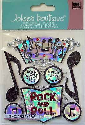 Jolee's MUSIC Stickers ROCK & ROLL BAND