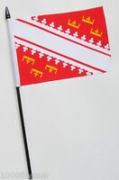 France Alsace Small Hand Waving Flag