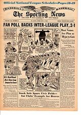 Sporting News magazine 2/2/1963 Baseball Fan Poll Backs Inter-League Play 2-1