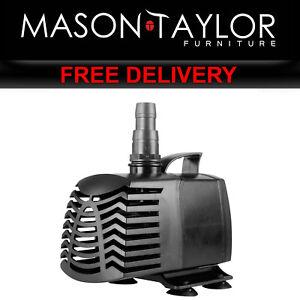 Brilliant Mason Taylor Multi-functional Pond 3000l/h Submersible Water Pump Aq-sph-6350 Pet Supplies