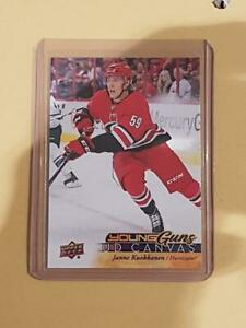 17-18-Upper-Deck-Young-Guns-UD-Canvas-Janne-Kuokkanen-C113-Rookie-RC