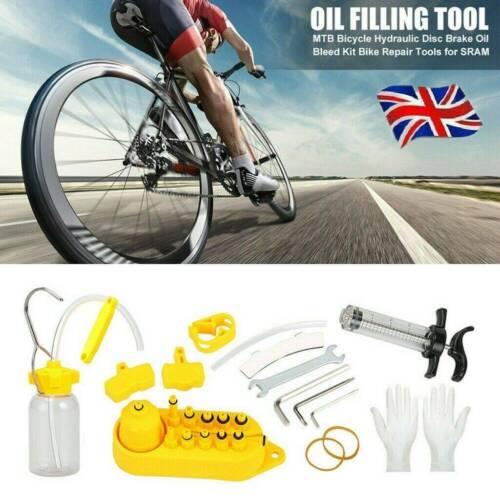 Bicycle Hydraulic Disc Brake Oil Bleed Kit MTB Repair Tools for Mountain Bike BL