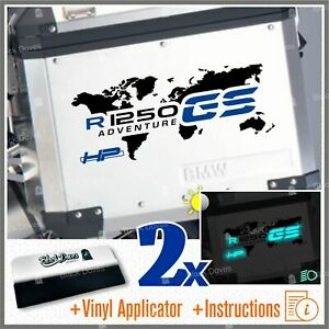 2pcs-Adesivi-World-R1250GS-ADVENTURE-Nero-Blu-BMW-R1250-GS-R-1250-HP-Valigie