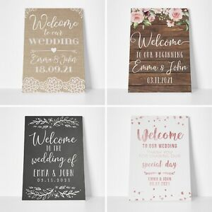 Personalised-Welcome-Wedding-Signs-Rustic-Wedding-Table-Plan-Sign-Poster