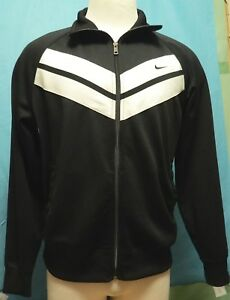 98c081d46 Details about Nike the Athletic Dept. Men's Full Zip Athletic Jacket Black  Size Large