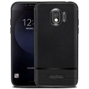 Samsung-Galaxy-S9-SCHWARZ-RGD-Carbon-Kunstleder-Handy-Schale-Cover-Schutz