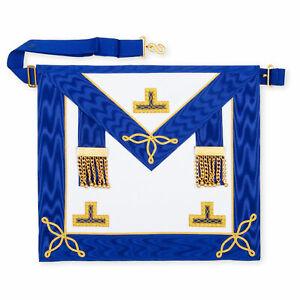 Masonic-Regalia-CRAFT-PROVINCIAL-UNDRESS-APRON-LAMBSKIN