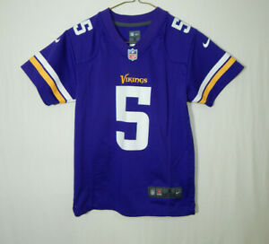 Teddy-Bridgewater-Minnesota-Vikings-NFL-Football-Jersey-Boys-Nike-YOUTH-SMALL-8
