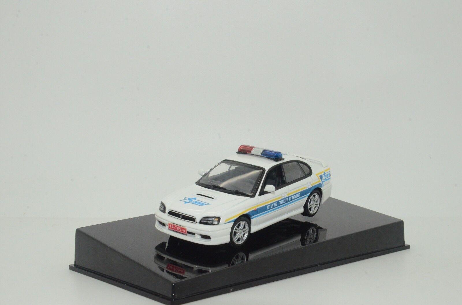 Rare    Subaru Legacy Road Police Israel Custom Made 1 43 Third generation