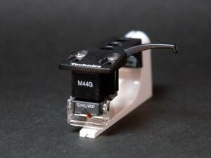 Shure-M44G-MM-cartridge-with-genuine-Technics-headshell