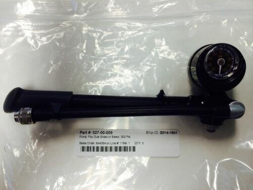 Fox Shocks Air Pump Float 3 Evol X RC2 Dual Side 0-150//0-300 Pounds