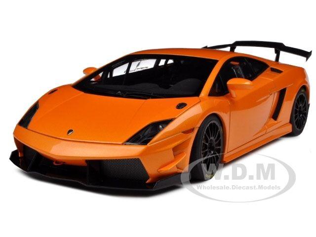 LAMBORGHINI GALLARDO LP560-4 SUPER TROFEO arancia 1/18 MODEL CAR AUTOART 74688