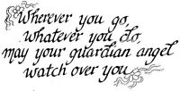 Unmounted Rubber Stamps, Christian Stamps, Guardian Angel, Angels, Angel Sayings