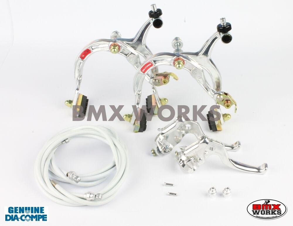 Brake Silber MX122 MX1000 Dia Compe Set BMX School Vintage