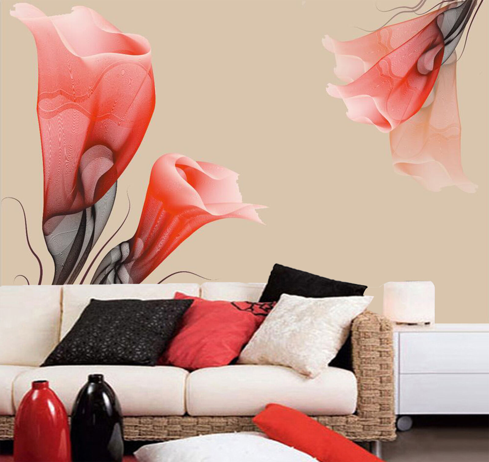 3D ROT trumpet 776 Wall Paper Wall Print Decal Wall Deco Indoor Wall Murals