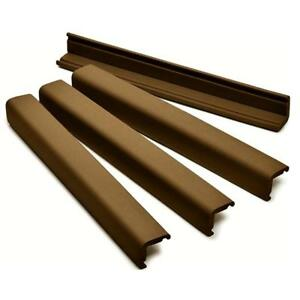 Prince-Lionheart-Jumbo-Edge-Guard-Cushions-4-x-46cm-Lengths-Chocolate-Brown
