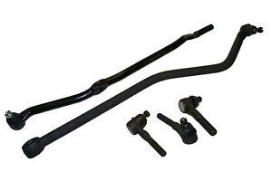 5 Pc Suspension Kit for Jeep TJ Wrangler Inner /& Outer Tie Rod Ends Track Bar