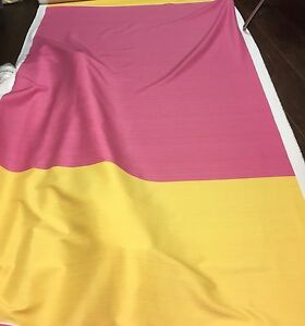 SKOPOS-COLOUR-BLOCK-PINK-YELLOW-CURTAIN-FABRIC-20-METRES
